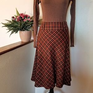 Fantastic Fall Color Dress Barn skirt